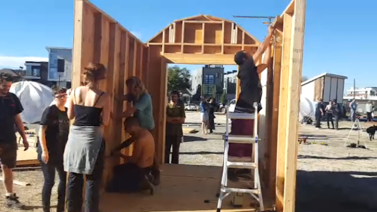 Beloved Community Tiny Home Village Building Starts Saturday May 20